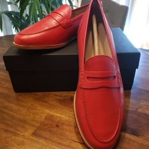 Jcrew Ryan Penny Loafers in leather, size 9